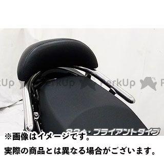 WirusWin レーシング150Fi タンデム用品 キムコ RACING125Fi用バックレスト付き 32φタンデムバー タイプ:ブライアントタイプ バックレストサイズ:スモール ウイルズウィン