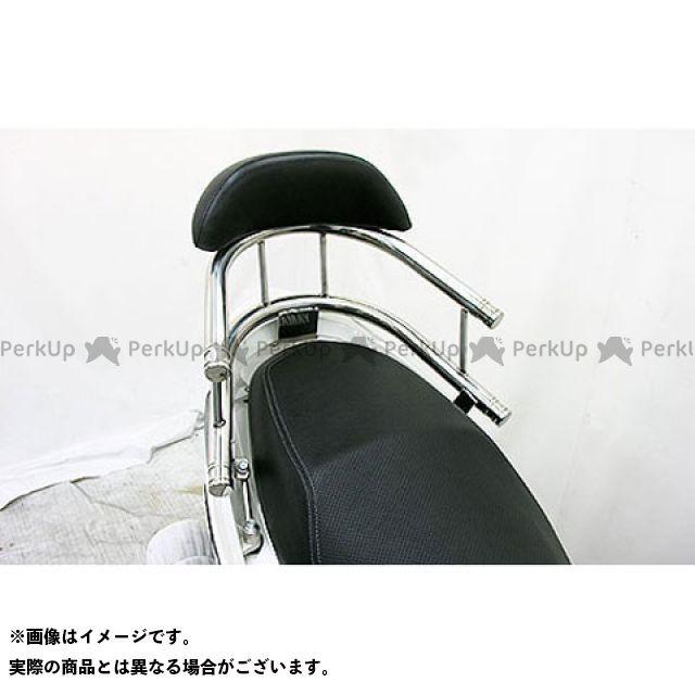 WirusWin シグナスX タンデム用品 シグナスX(3型)用 バックホールドタンデムバー タイプ:エレガントタイプ バックレストサイズ:ラージ ウイルズウィン