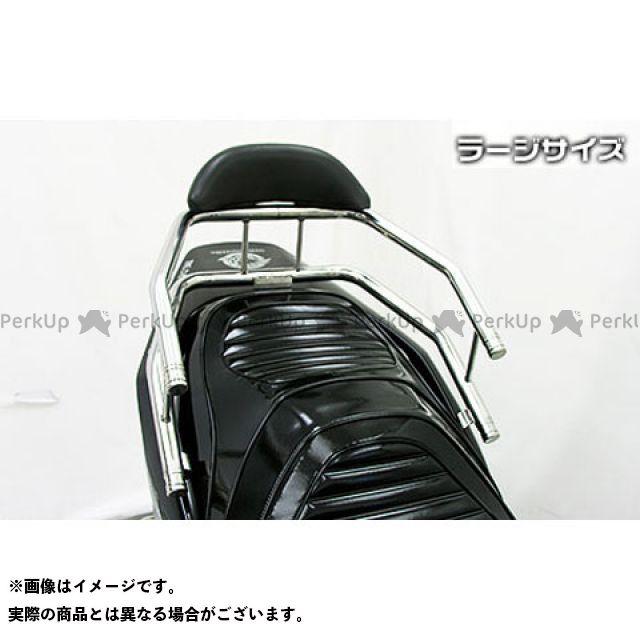 【エントリーで更にP5倍】WirusWin タンデム用品 スカイウェイブ(CJ44/45/46)用 バックホールドタンデムバー タイプ:エレガントタイプ バックレストサイズ:ラージ ウイルズウィン