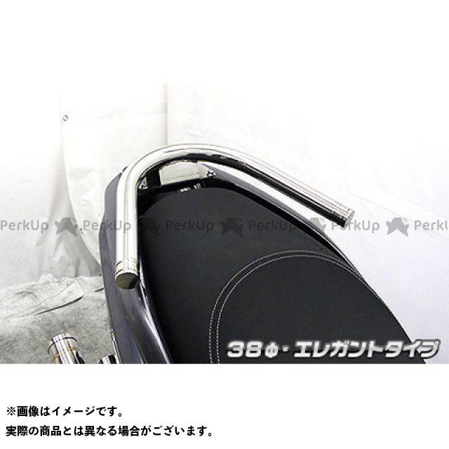 WirusWin トリシティ125 タンデム用品 トリシティ125用 38φタンデムバー タイプ:エレガントタイプ ウイルズウィン