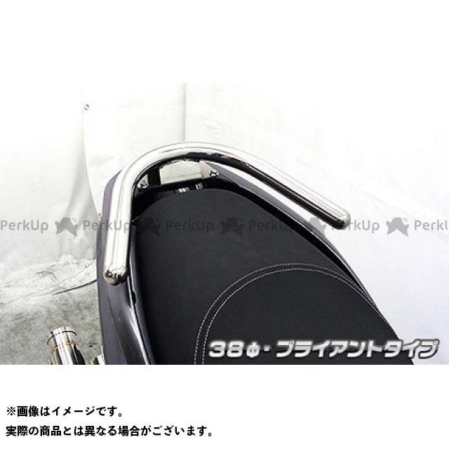 【エントリーで更にP5倍】WirusWin トリシティ125 タンデム用品 トリシティ125用 38φタンデムバー タイプ:ブライアントタイプ ウイルズウィン
