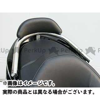 WirusWin フォルツァX フォルツァZ タンデム用品 フォルツァ(MF10)用バックレスト付き 38φタンデムバー タイプ:エレガントタイプ バックレストサイズ:スモール ウイルズウィン