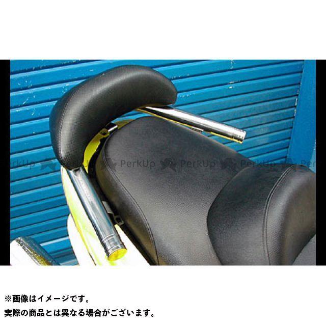 WirusWin マジェスティ125 タンデム用品 マジェスティ125用 バックレスト付 38φタンデムバー タイプ:エレガントタイプ バックレストサイズ:スモール ウイルズウィン