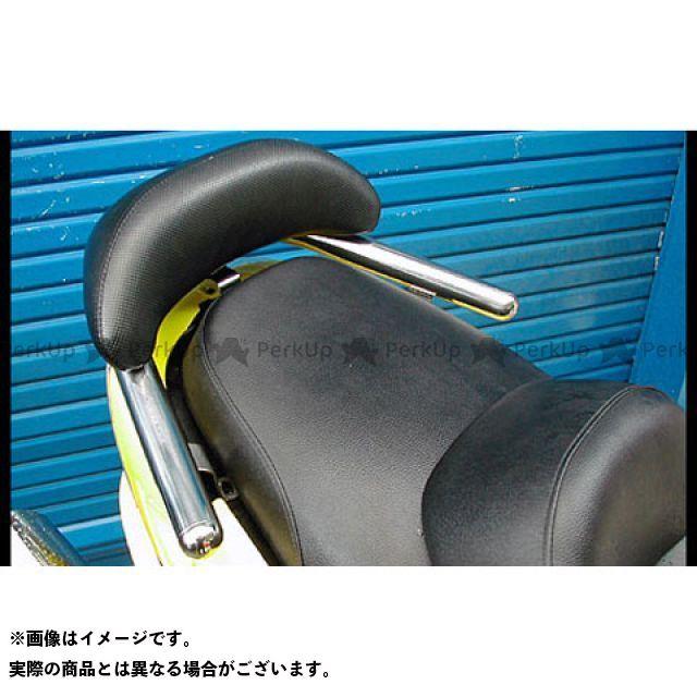 WirusWin マジェスティ125 タンデム用品 マジェスティ125用 バックレスト付 38φタンデムバー タイプ:ブライアントタイプ バックレストサイズ:スモール ウイルズウィン