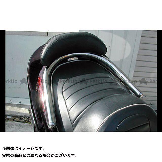 WirusWin マジェスティ マジェスティC タンデム用品 マジェスティ250(5GM/5SJ)用 バックレスト付 38φタンデムバー タイプ:ブライアントタイプ バックレストサイズ:ラージ ウイルズウィン