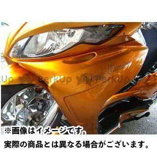 モトサービスマック MOTO SERVICE MAC カウル・エアロ サイドコンバート【DRUG BOMBER】 未塗装