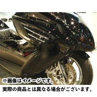 サイドコンバート【decade】 モトサービスマック SERVICE マジェスティ カウル・エアロ MAC MOTO カラー:未塗装(白ゲル)