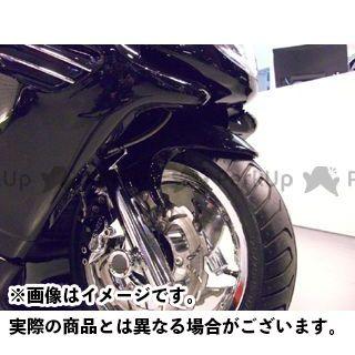 MOTO SERVICE MAC マジェスティC フェンダー フロントフェンダー【decade】 カラー:未塗装(白ゲル) モトサービスマック
