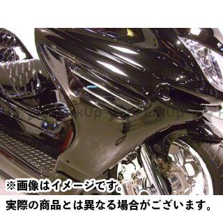 MOTO SERVICE MAC マジェスティC カウル・エアロ サイドコンバート【decade】 未塗装(白ゲル) モトサービスマック