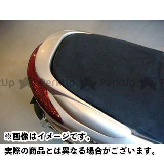 MOTO SERVICE MAC マジェスティC カウル・エアロ リアスポイラー【KICKS X rated】 カラー:未塗装(白ゲル) モトサービスマック