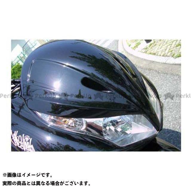 MOTO SERVICE MAC PCX125 カウル・エアロ フェイスコンバート(未塗装)【DRUG BOMBER】 モトサービスマック