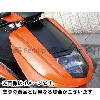 MOTO SERVICE MAC シグナスX カウル・エアロ フェイスコンバート バーティカルタイプ【DB RACING】 未塗装(白ゲル)