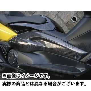 MOTO SERVICE MAC TMAX500 カウル・エアロ サイドパネル(カーボン)【KICKS X rated】 モトサービスマック