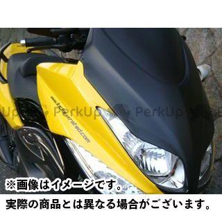 MOTO SERVICE MAC TMAX500 カウル・エアロ フェイス【KICKS X rated】 カラー:未塗装 モトサービスマック