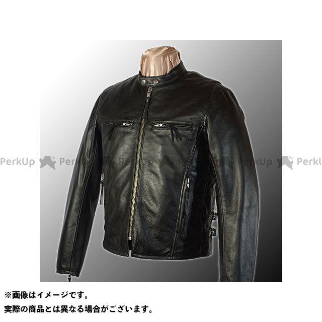 カドヤ ジャケット K'S LEATHER No.1112 MVS-F(ブラック) サイズ:M KADOYA