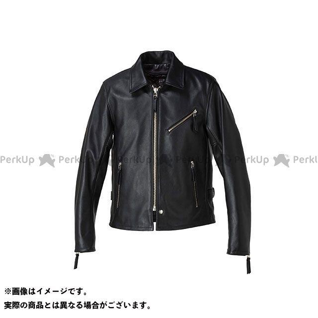 カドヤ ジャケット K'S LEATHER No.1152 VNS-3 シングルライダース カラー:ブラック サイズ:LL KADOYA