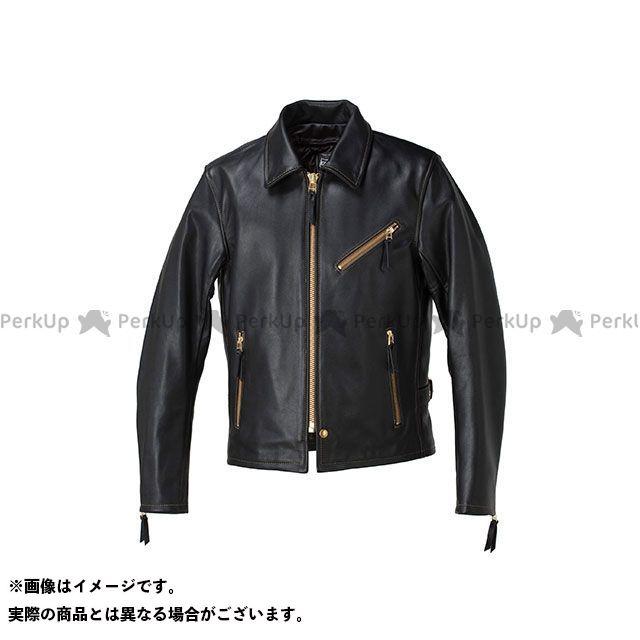 カドヤ ジャケット K'S LEATHER No.1152 VNS-3 シングルライダース カラー:ブラック×ブラウン サイズ:LL KADOYA