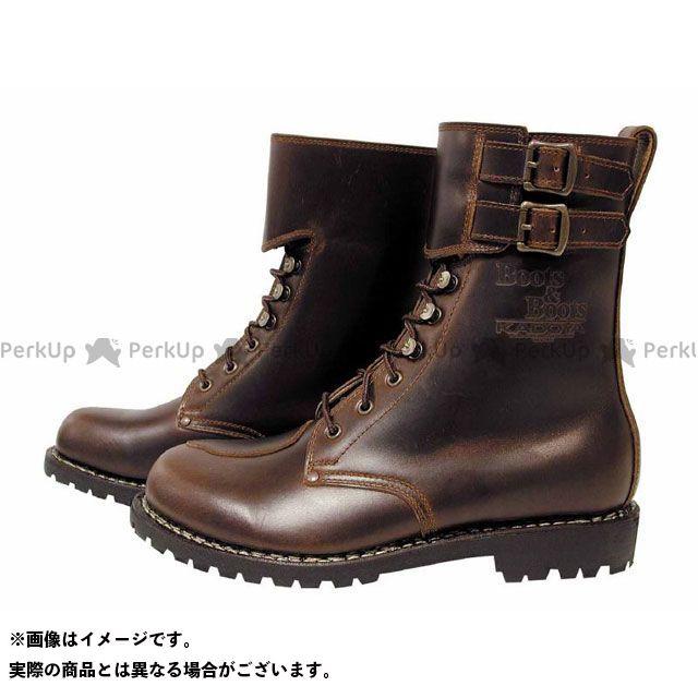 カドヤ ライディングブーツ K'S/BOOTS&BOOTS No.4002 KA-VOGEL ブラウン 28.0cm KADOYA
