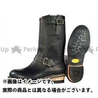 カドヤ ライディングブーツ K'S/BOOTS&BOOTS No.4007-2 KA-G.I.J-SS(ブラック/ ゴールド) サイズ:25.0cm KADOYA