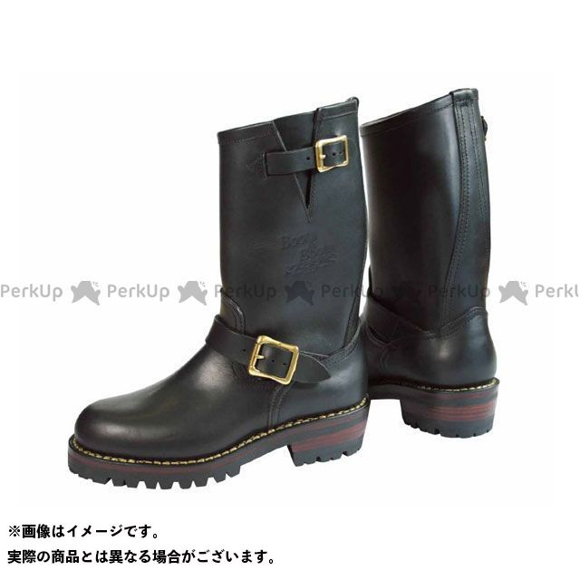 カドヤ ライディングブーツ K'S/BOOTS&BOOTS No.4007 KA-G.I.J(ブラック) サイズ:23.5cm KADOYA