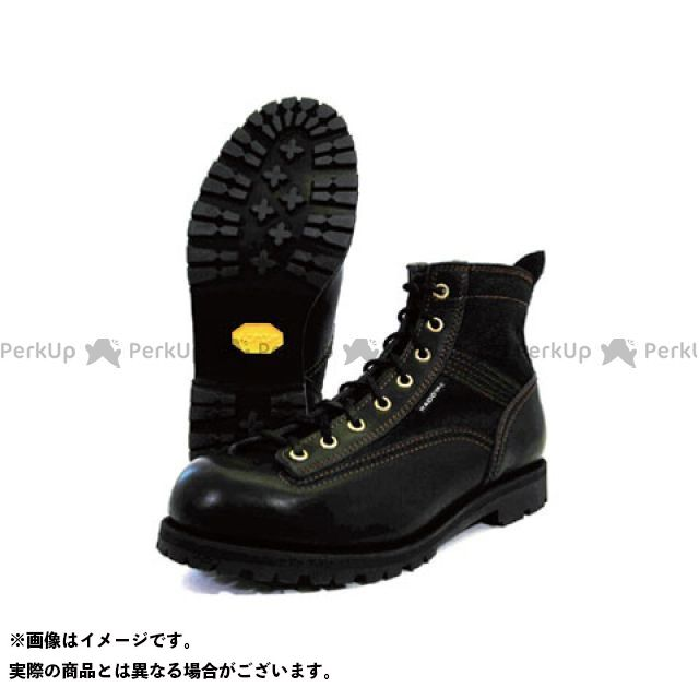 KADOYA カドヤ ライディングブーツ バイクシューズ・ブーツ カドヤ ライディングブーツ Leather Royal Kadoya No.4326 LOGGER LIGHT ブラック×ブラック 28.0cm KADOYA