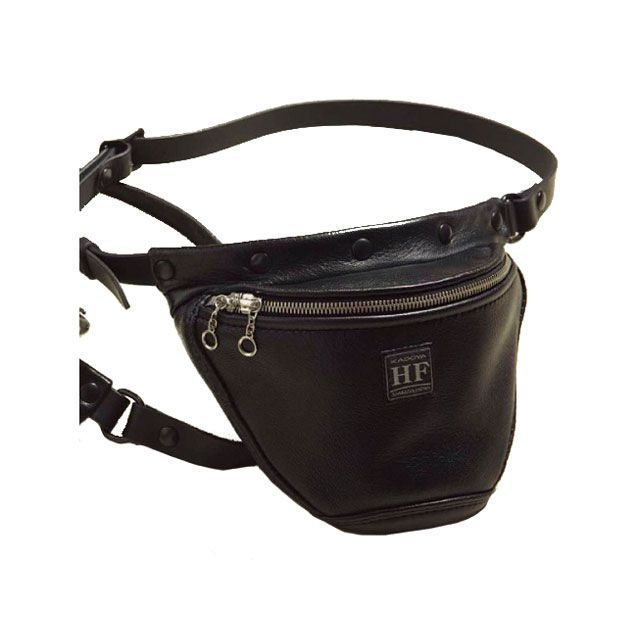 カドヤ ツーリング用バッグ HEAD FACTORY No.8493 HFG/WAIST BAG GS-STD(ブラック) サイズ:L KADOYA