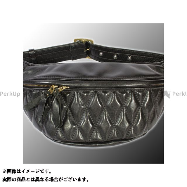 カドヤ ツーリング用バッグ HEAD FACTORY GEAR No.8496 HFG/WASTE BAG-PTD(ブラック) サイズ:M/L KADOYA
