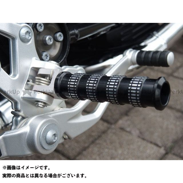 【無料雑誌付き】AC Schnitzer F800R ステップ replacement footrests (set) front F 800 R from 2015 | 700-68842-15-002 ACシュニッツァー