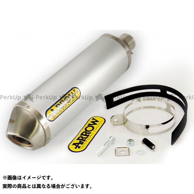 【無料雑誌付き】ARROW エキゾーストパイプ HONDA CB 500 F/CBR 500 13 HOMOLOGATED TITANIUM RACE-TECH SILENCER FOR LINK PIPE | 71804PO アロー