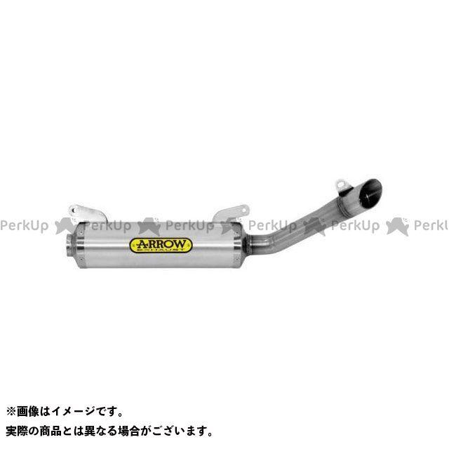 【エントリーで最大P23倍】ARROW エキゾーストパイプ APRILIA RS4125 17 HOMOL.THUNDER ALUM. SILENCER LOW VERSION FOR 51013MI/KZ LINK PIPE AND ORIGINAL…