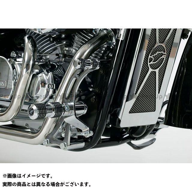 【無料雑誌付き】Falcon シャドウ750 フォワードコントロールキット ラウンドスタイルフォワードコントロールキット HONDA VT750 Black Widow (2001-2003) | 65401751 ファルコン