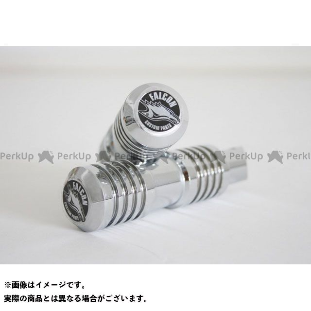 【無料雑誌付き】Falcon その他のモデル ステップ ラウンドスタイルパッセンジャーフットレスト SUZUKI VZ 800 Marauder (1996-2003) | 65401905 ファルコン