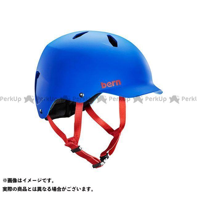 バーン 自転車 bern ヘルメット 自転車用品 無料雑誌付き 児童用ヘルメット BANDITO Cobalt 小学生対象 人気激安 バンディート Blue 期間限定の激安セール サイズ:S Matte M