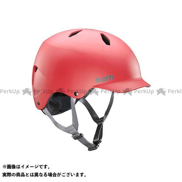 バーン 自転車 bern ヘルメット 自転車用品 無料雑誌付き 2020 新作 児童用ヘルメット BANDITO 小学生対象 Matte バンディート M Red サイズ:S お買い得