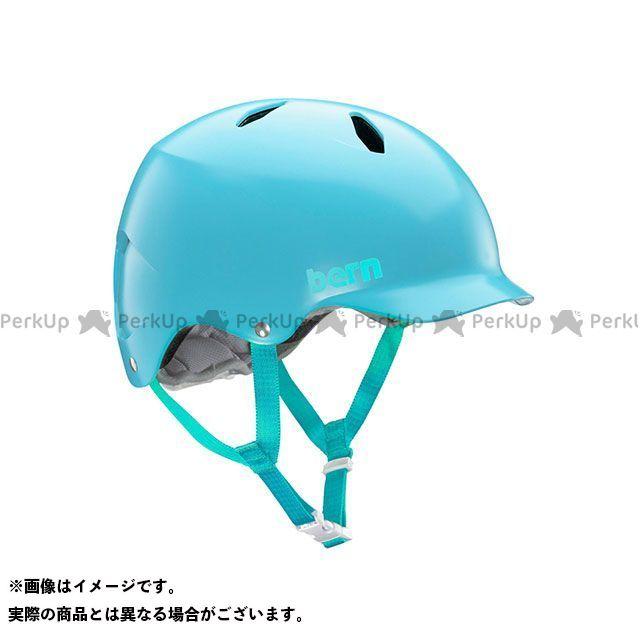 バーン 輸入 自転車 bern ヘルメット 自転車用品 無料雑誌付き 児童用ヘルメット BANDITO 小学生対象 M セールSALE%OFF サイズ:S Light Blue バンディート Satin