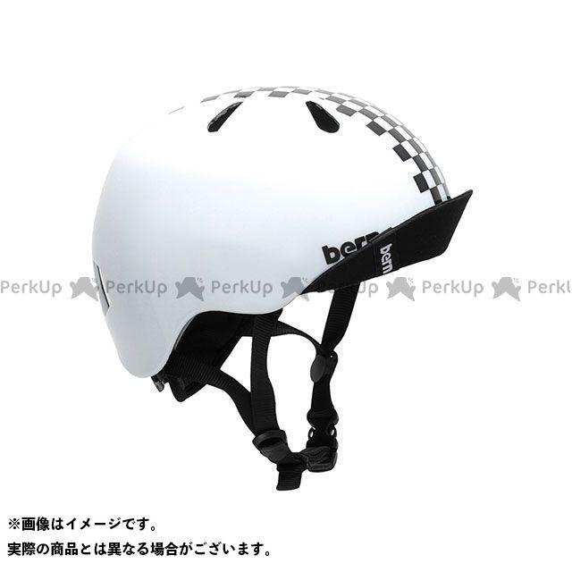 バーン 自転車 買い物 bern 公式 ヘルメット 自転車用品 無料雑誌付き 幼児用ヘルメット NINO Gloss ニーノ Checker Black S サイズ:XS 幼稚園年少対象