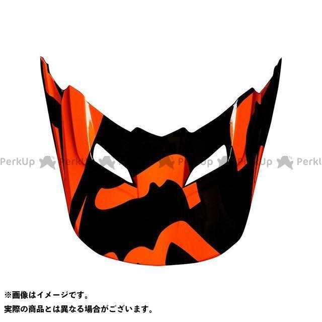 フォックス FOX ヘルメットバイザー ヘルメット 受賞店 V1バイザー 2XL 日本未発売 RACE サイズ:XL オレンジ