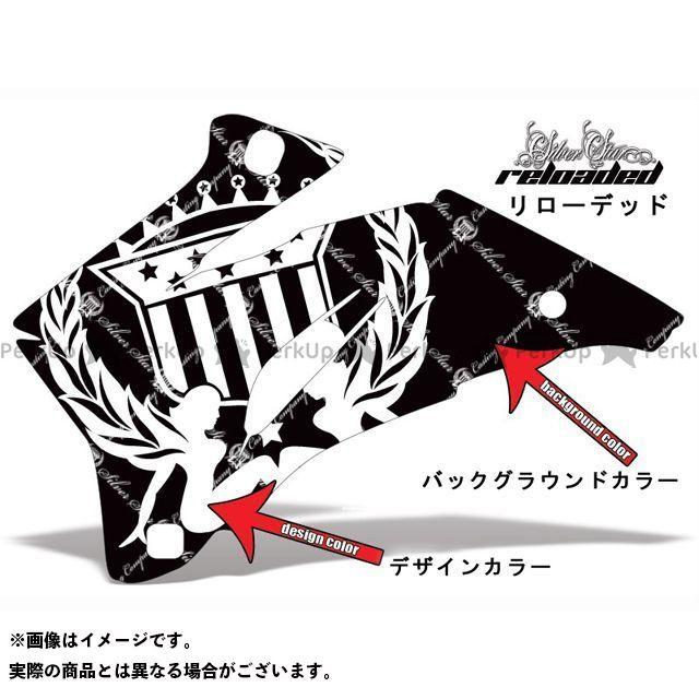 AMR Racing ニンジャZX-10 ドレスアップ・カバー 専用グラフィック コンプリートキット デザイン:リローデッド デザインカラー:ブラック バックグラウンドカラー:ピンク AMR