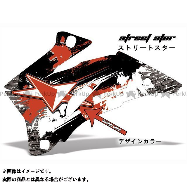 AMR Racing ニンジャZX-10 ドレスアップ・カバー 専用グラフィック コンプリートキット デザイン:ストリートスター デザインカラー:レッド バックグラウンドカラー:選択不可 AMR