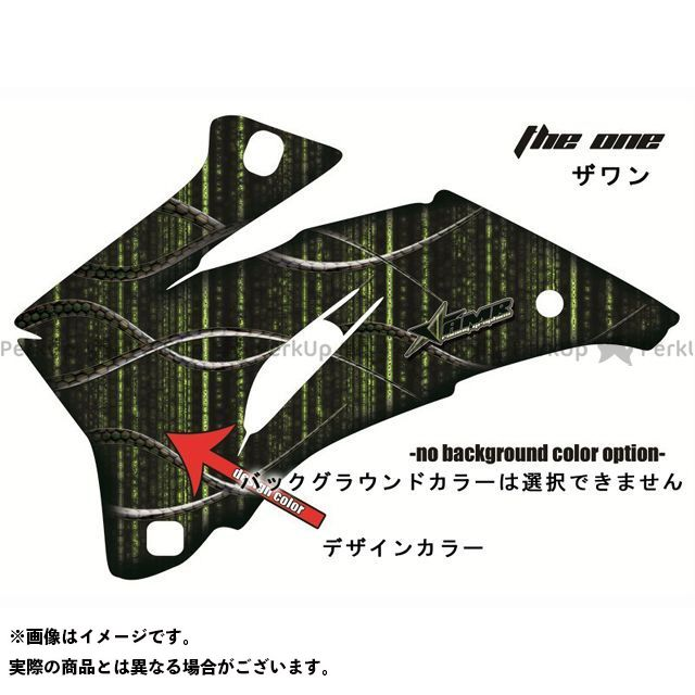 AMR Racing ニンジャZX-10 ドレスアップ・カバー 専用グラフィック コンプリートキット デザイン:ザ・ワン デザインカラー:ブラック バックグラウンドカラー:選択不可 AMR