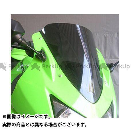 アサヒフウボウ ニンジャ250R スクリーン関連パーツ スクリーン カラー:ブラックスモーク 旭風防