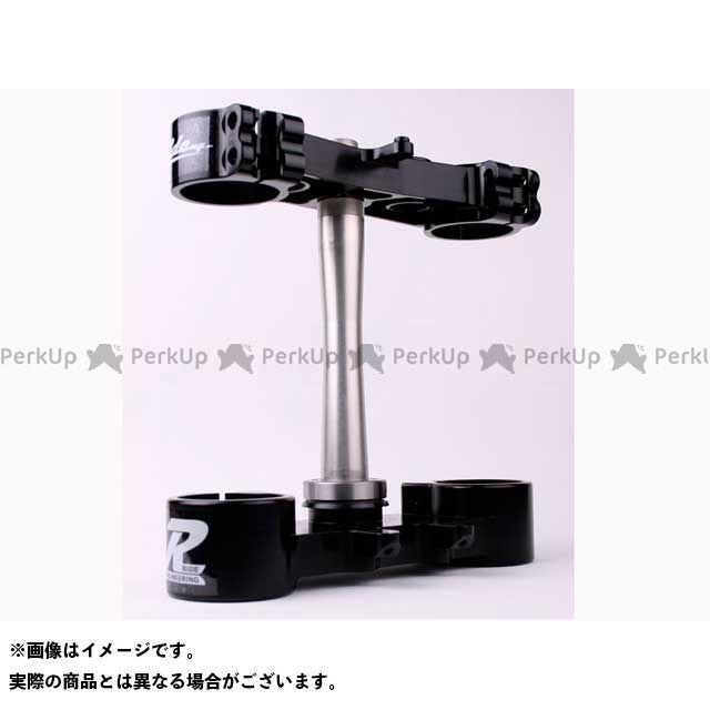 Ride Engineering RM-Z450 ハンドル周辺パーツ トリプルクランプキット RMZ450(13-14) 20mm オフセット カラー:ブラック ライドエンジニアリング