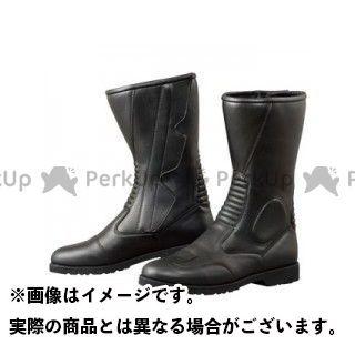 KOMINE ライディングブーツ K520 サイドジッパーブーツ(ブラック) ワイド 24.0cm コミネ