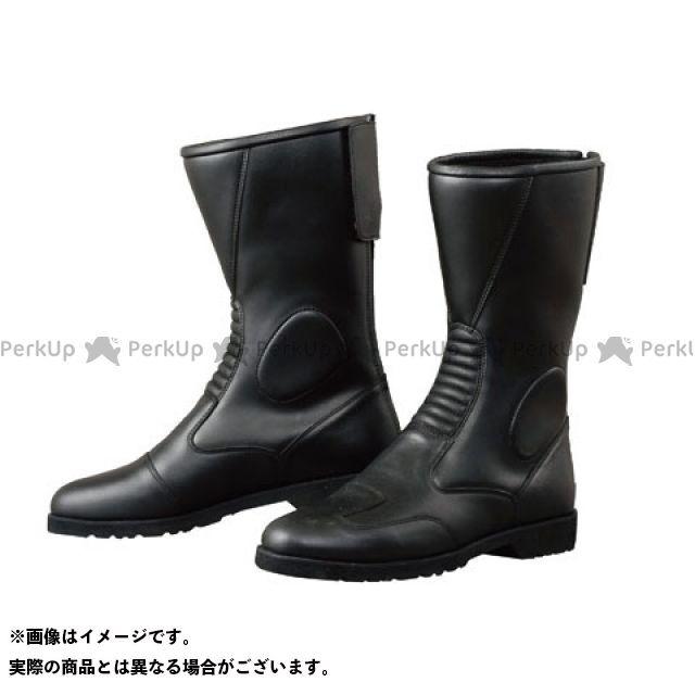 KOMINE ライディングブーツ K202 バックジッパーブーツ(ブラック) タイプ:- サイズ:25.5cm コミネ
