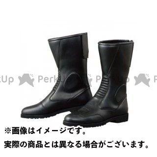 KOMINE ライディングブーツ K202 バックジッパーブーツ(ブラック) タイプ:ワイド サイズ:26.0cm コミネ
