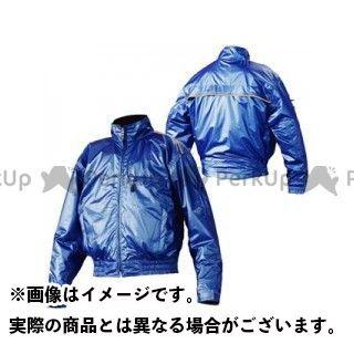 KOMINE ジャケット JK-658 プレミアムウインドブレーカー カラー:ブルー サイズ:M コミネ
