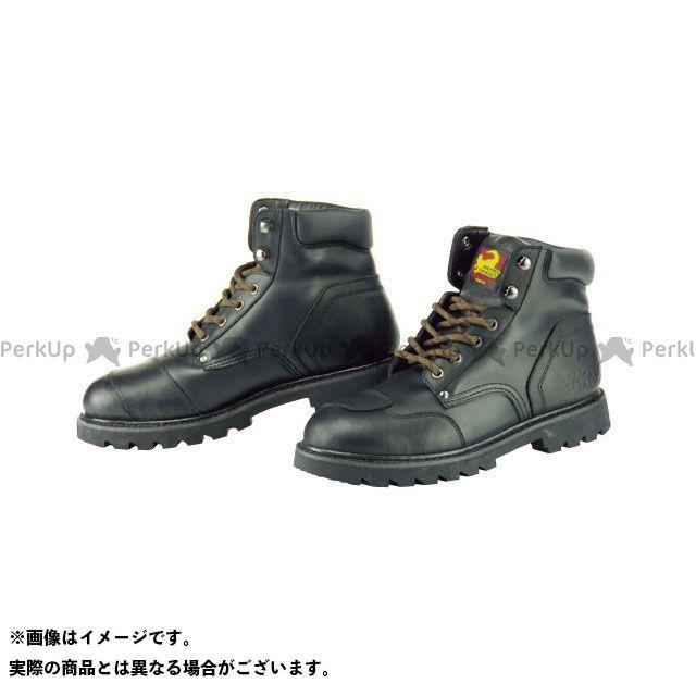 KOMINE ライディングシューズ SB-21 ショートブーツ ブラック 27.5cm コミネ