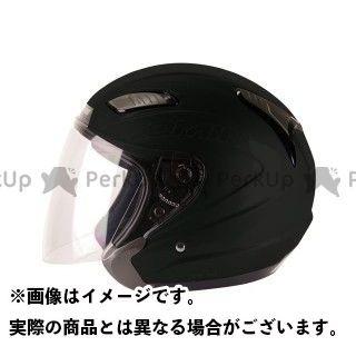 送料無料 コミネ KOMINE ジェットヘルメット HK-168 プルート マットブラック L