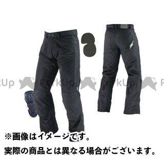 【エントリーで最大P21倍】KOMINE パンツ PK-710 ライディングメッシュジーンズII(ブラック) サイズ:2XL コミネ