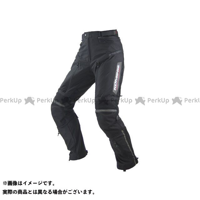 KOMINE パンツ PK-716 フルイヤーライディングパンツ-エア(ブラック) サイズ:4XLB コミネ